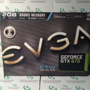 EVGA GeForce GTX 570 FTW 2GB GDDR5 Memory PCI Express 3.0