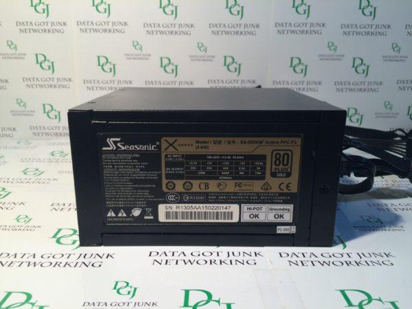 Seasonic X-SERIES Model SS-650KM Active PFC F3 80 Plus Gold