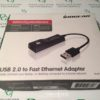 IOGEAR USB 2.0 to Fast Ethernet Adapter Model GUC2100