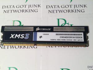 Corsair XMS3 DDR3 4GIG CMX4GX3M1A1333C9 1333MHz