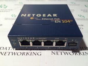Netgear EN104 4-Port 10Base-T Ethernet Network Hub