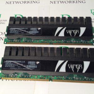 Patriot VIPER RAM DDR2 PV224G6400LLK (2X2GB)