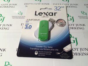 Lexar 32GB USB 3.0 Jump Drive – Green