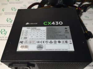 Corsair CX430 Power Supply Model 75-001666