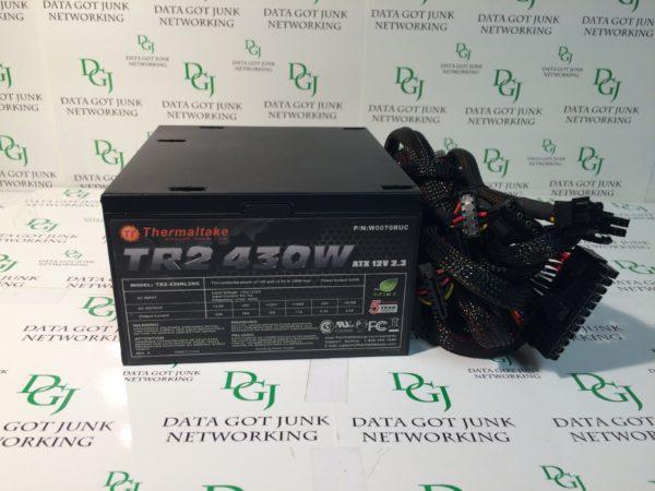 Thermaltake TR2 430W ATX 12V 2.3 P/N:W0070RUC MODEL: TR2-430NL2NC