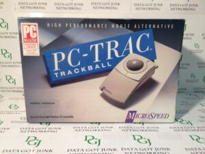 PC-Trac Trackball MicroSpeed
