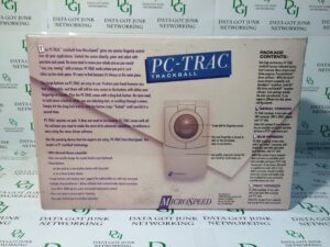PC-Trac Trackball MicroSpeed