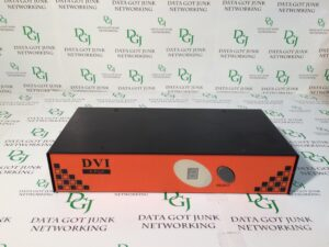 4-Port DVI KVM Switch PC PS/2 Keyboard/Mouse and Monitor