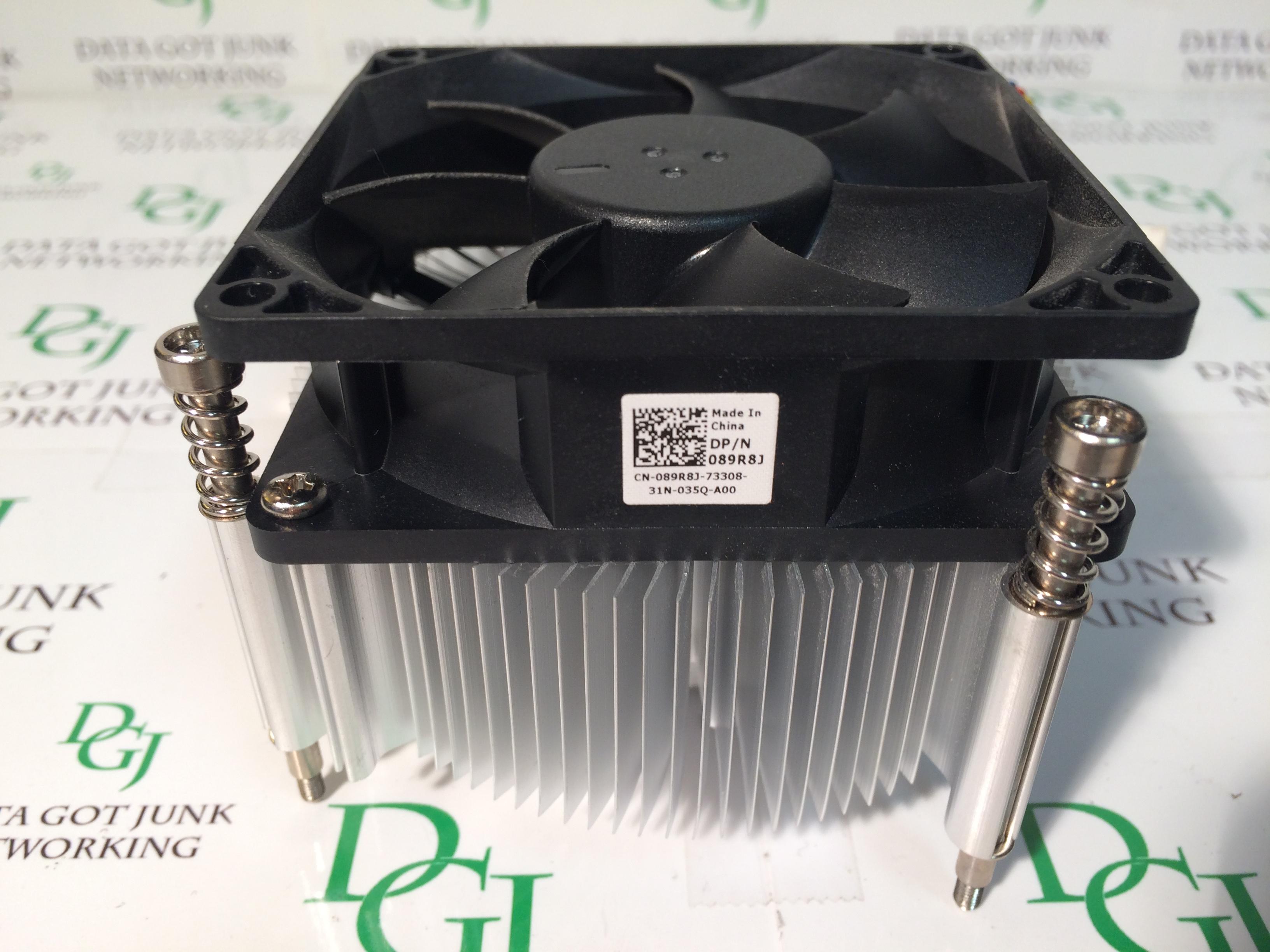 Dell Optiplex 9010 7010 3020 9020 T1650 T1700 CPU Heatsink Fan Assembly  089R8J