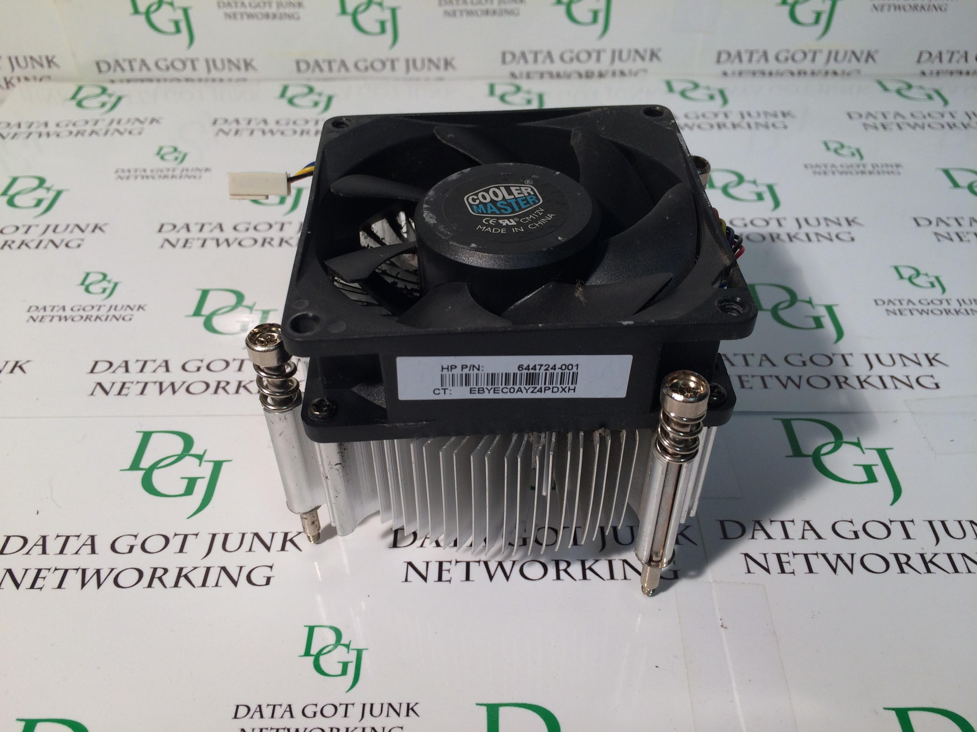 Cooler Master Heatsink W Fan Hp P N 644724 001 Data Got Junk