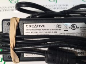 Creative Speaker Power Supply Model XKD-Z1700IC27.0-4848 P/N ADC0000005802