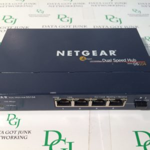 Netgear DS104 4 Port 10/100 Dual Speed Hub