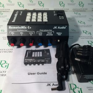 JK Audio Remote Mix C Plus Portable Mixer for Telephone Broadcasts RemoteMix