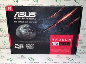 ASUS Radeon RX 550 2GB