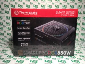 Thermaltake Smart Pro RGB 850W 80+ Bronze Smart Zero 256-Color RGB Fan Fully Mod