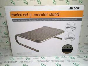 Allsop Monitor Stand Metal Art Jr