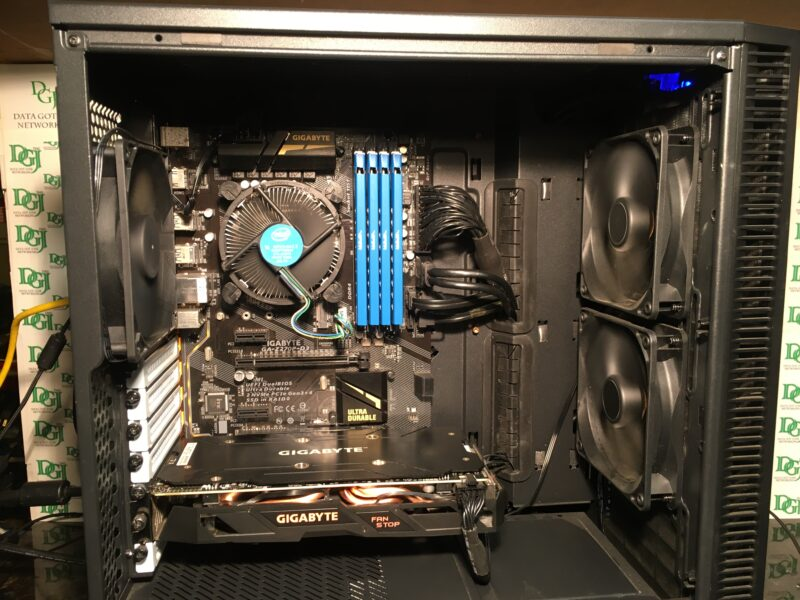 GIGABYTE Fractal Gaming Desktop Computer Custom Build