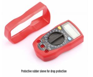 Etekcity MSR-R500 Measure Up Electronic Amp Volt Ohm Voltage Digital Multimeter